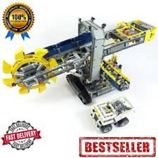 Building Blocks Technic Series 20015 Bucket Wheel Excavator Model Brick for Kids
