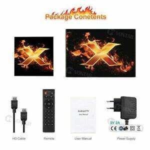 Amlogic S905X3 4/64GB WIFI Bluetooth 4.1 8K Android 10 TV-Box - EU stecker
