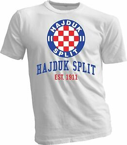 Hajduk Split Croatia t shirt handmade team sports UEFA Europa soccer football