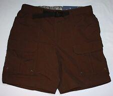 Hombre Croft & Barrow NUEVO CON ETIQUETA Pantalones Cortos Talla 32 35 Marrón