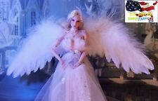 "1/6 scale feathers wings Scepter for 12"" female figure Angel Elf Phicen ❶USA❶"
