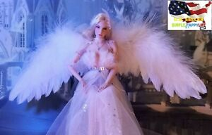 """1/6 scale feathers wings Scepter for 12"""" female figure Angel Elf Phicen ❶USA❶"""
