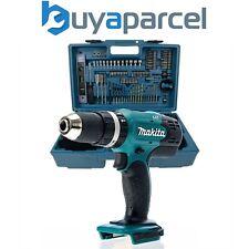 Makita DHP453Z 18v LXT Combi Hammer Drill Bare + 101 Piece Screwdriver Bit Set