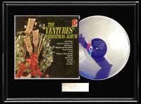 THE VENTURES CHRISTMAS WHITE GOLD SILVER PLATINUM TONE RECORD RARE NON RIAA