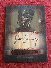 Star Wars topps Autograph Wood Jim Cummings as Hondo Ohnaka Auto #2/10 rare