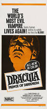 Dracula Prince of Darkness Christopher Lee movie poster
