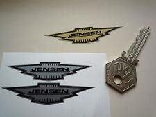 "JENSEN Shaped Car Stickers 2.5"" Pair Vinyl Decal Classic Interceptor CV8 Healey"