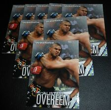 Alistair Overeem UFC 2012 Topps Knockout StrikeForce Card #7 141 156 Pride K-1