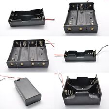 18650 1/2/3/4/5/6/8x AA/AAA/D Battery Holder/Enclosed Box/Switch With thick line
