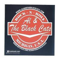 Al & The Black Cats - Rock-n-Roll - Aufkleber / Sticker - Promoaufkleber