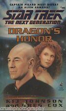 Star Trek The Next Generation Dragon's Honor #38 Cox/Johnson 1996 Paperback Book