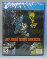 My Hero Ones Justice (PlayStation 4, 2018)_Buy_It_Now !!! BRAND NEW !!!