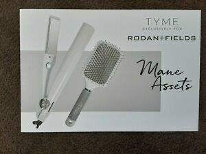 Tyme Mane Assets Iron Pro Hair Curler & Straightener -Rodan & Fields Edition NEW