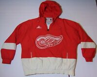 SIZE XL Old Vintage 1990s Detroit Red Wing NHL Hockey Official APEX Jacket Coat