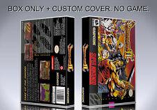 BREATH OF FIRE 2. NTSC VERSION. Box/Case. Super Nintendo. BOX + COVER. (NO GAME)