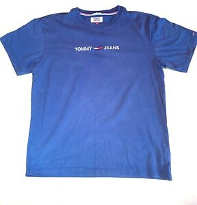 Tommy Hilfiger Navy T Shirt L