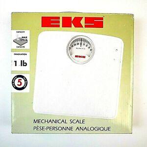 EKS Mechanical Bathroom Scale Body Weight Max 270 lbs Health Care
