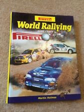 Martin Holmes PIRELLI WORLD RALLYING 2000 - 2001 No 23 hardback