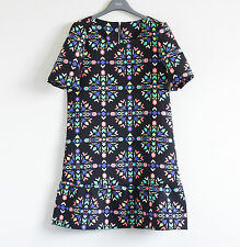 Mini Shift Casual Geometric Dresses for Women
