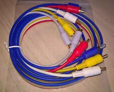 3 Phono (Composite) OPTIQUE & S-Video or plomb 1.5 m - 5 conduit dans un