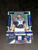 2010 Panini Extra Edition Blue Gary Sanchez Card # 34 #D /200 RARE ROOKIE Yankee