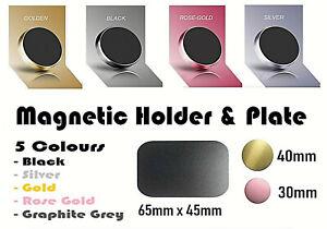 Magnetic Car Holder Plate Metal Plate and Magnet Phone Holder Disc Mount GoPro
