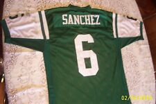 NFL,JETS,XL,ON FIELD,#6,SANCHEZ,JERSEY,NEW YORK,SZ,50,FOOTBALL,BALTIMORE,SEWN,ON