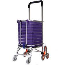 Hosmat, Folding Shopping Cart Portable Stair Climbing Grocery/Utility Cart