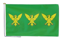 More details for caernarfonshire sir gaernarfon flag with rope and toggle - various sizes