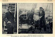 Ritorno dei inglese Südpolar-Expedition capitano Scott Discovery Polar... 1904