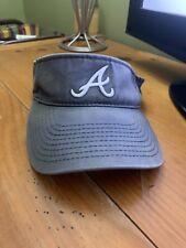 New listing Atlanta Braves Baseball Visor Cap Hat Adjustable