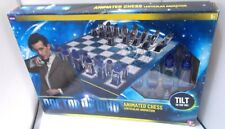 DOCTOR WHO ANIMATED CHESS SET BOARD GAME MADE IN 2011 BY ALL IN ONE PRODUCTS