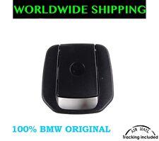 BMW E90 E91 E81 E87 F20 REAR SEAT BLACK ISOFIX MOUNT COVER GENUINE NEW