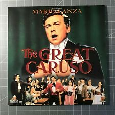 THE GREAT CARUSO LASERDISC - LD