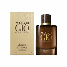 Acqua di Gio Absolu Instinct by Giorgio Armani for Men 2.5 oz EDP Spray NEW
