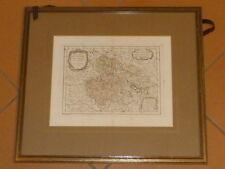 Kupferstich Courtalon 1774 Karte Landkarte Böhmen Mähren Boheme Moravia Lausitz