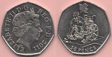GB Coin – 2011 - 50p – 2012 London Para Olympics – Boccia