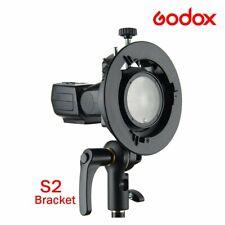 Godox S2 Bowens Mount S Type Camera Flash Speedlite Bracket V1  TT685 TT350 T600