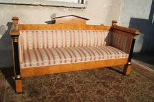 *+ Schönes Biedermeier Sofa mit Säulen in Birke +*