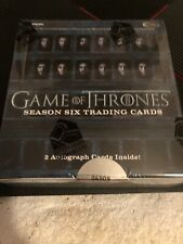 Rittenhouse: 2017 Game of Thrones Season 6 Factory Sealed 24 Pack Box