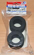 Tamiya 53129 F-1 Rear 3645 HBR Soft Sponge Tires/Tyres (1 Pair) (F101/F102/F103)
