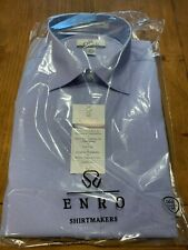 Enro EZCool Non-Iron Dress Shirt 16.5 35/36 Tall - Hip Hop Blue