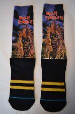 Stance Iron Maiden Legends of Rock Men's Socks Sz. LG