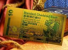 "★★ HONGKONG  : BILLET POLYMER  "" OR "" DU 10 DOLLARS HKG ★★"
