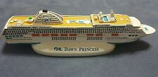 DAWN PRINCESS CRUISE SHIP CERAMIC MODEL FIGURINE