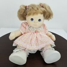 My Child Blonde Blue Eyes Girl Jointed Outfit Pamper Diaper Mattel 1985