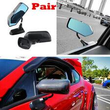 2pc Racing Car Rainproof Rearview Mirror Adjustable Side Mirror Auto Accessories