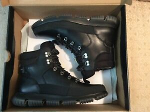 Cole Haan 4ZG Hiker Boots For Man (Black) Size 11
