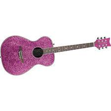 Daisy Rock (146205) Pixie Pink Sparkle Acoustic Guitar