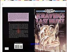 MIKE ZECK SPIDERMAN DEATH KRAVEN'S LAST HUNT ORIGINAL PRODUCTION ART COVER PROOF